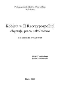 Kobieta w II Rzeczypospolitej