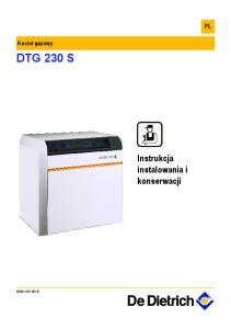 Kocioł gazowy DTG 230 S. Instrukcja instalowania i konserwacji D