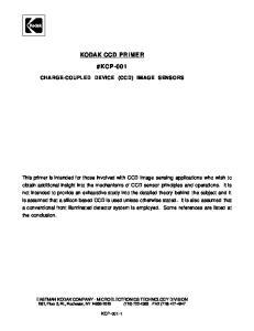 KODAK CCD PRIMER #KCP-001