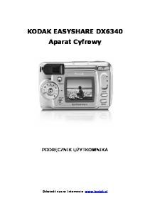 KODAK EASYSHARE DX6340 Aparat Cyfrowy