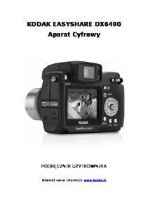 KODAK EASYSHARE DX6490 Aparat Cyfrowy