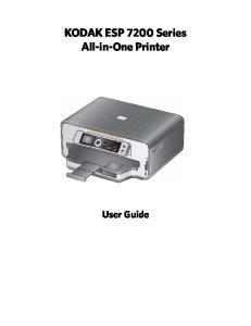 KODAK ESP 7200 Series All-in-One Printer. User Guide