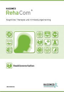 Kognitive Therapie und Hirnleistungstraining