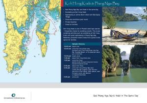 Koh Hong Krabi & Phang Nga Bay