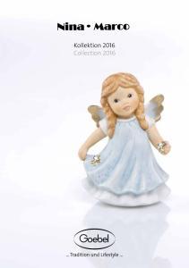 Kollektion 2016 Collection 2016