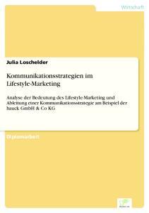 Kommunikationsstrategien im Lifestyle-Marketing