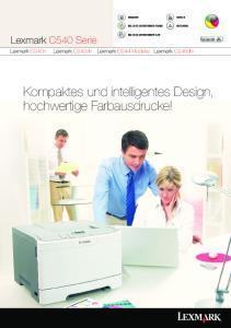 Kompaktes und intelligentes Design, hochwertige Farbausdrucke!