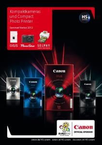 Kompaktkameras und Compact Photo Printer