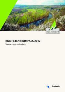 KOMPETENZKOMPASS Topstandorte im Enzkreis