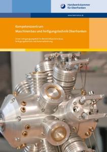 Kompetenzzentrum Maschinenbau und Fertigungstechnik Oberfranken