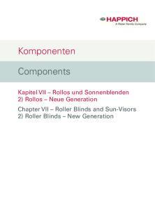 Komponenten. Components