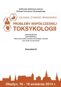 Konferencja szkoleniowo-naukowa Polskiego Towarzystwa Toksykologicznego