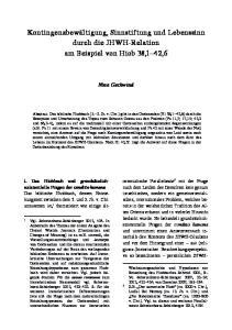 Kontingenzbewältigung, Sinnstiftung und Lebenssinn durch die JHWH-Relation am Beispiel von Hiob 38,1 42,6