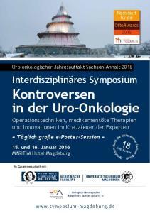 Kontroversen in der Uro-Onkologie
