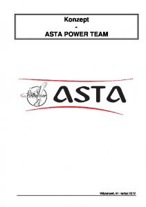 Konzept - ASTA POWER TEAM