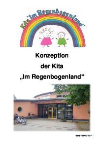 Konzeption der Kita Im Regenbogenland
