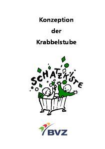 Konzeption der Krabbelstube