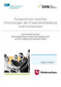 Kooperationen zwischen Einrichtungen der Erwachsenenbildung und Hochschulen