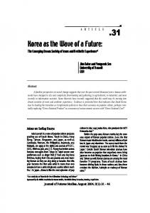 Korea as the Wave of a Future: The Emerging Dream Society of Icons and Aesthetic Experience*