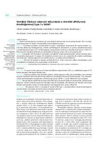 Korelacje kliniczne zaburze od ywiania w chorobie afektywnej dwubiegunowej typu I u kobiet