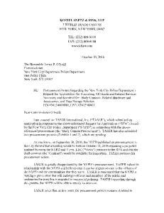 KOSTELANETZ & FINK, LLP 7 WORLD TRADE CENTER NEW YORK, NEW YORK TEL: (212) FAX: (212)