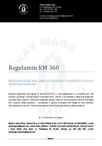KRAV MAGA 360 ul. Pułaskiego 30, Poznań tel tel