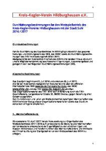 Kreis-Kegler-Verein Hildburghausen e.v