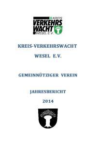 KREIS-VERKEHRSWACHT WESEL E.V