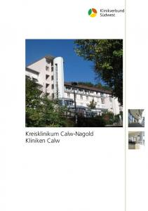 Kreisklinikum Calw-Nagold Kliniken Calw