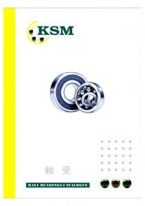 KSM BALL BEARINGS CATALOGUE