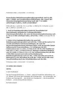 KStG 8b Abs. 1, 8b Abs. 5 S. 1, 8 Abs. 1; EStG 3 Nr. 41 Buchst. a, 3c Abs. 1; AStG 7, 10 Abs. 1, 2