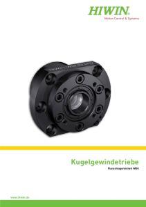 Kugelgewindetriebe Flanschlagereinheit WBK