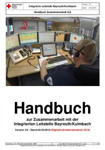 Kulmbach. Handbuch Zusammenarbeit ILS. Handbuch. zur Zusammenarbeit mit der