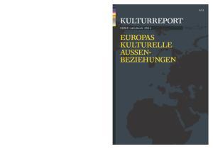 KULTURREPORT EUNIC-JAHRBUCH 2011