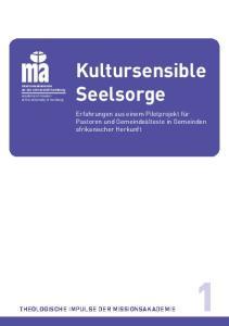 Kultursensible Seelsorge