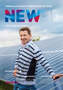 Kundenmagazin der NEW Niederrhein Energie und Wasser. Weiches Wasser