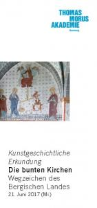 Kunstgeschichtliche Erkundung Die bunten Kirchen Wegzeichen des Bergischen Landes