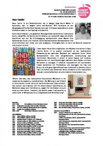 Kunstwarenhaus Ross Tamlin Education Selected & Group Exibitions Solo Exibithions