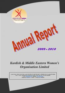 Kurdish & Middle Eastern Women s Organisation Limited