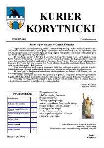 KURIER KORYTNICKI. Sytuacja powodziowa w Gminie Korytnica