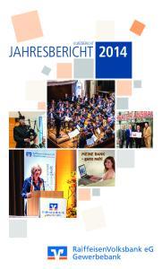 Kurzbericht. Jahresbericht 2014