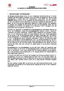 Kurzbericht zur Inspektion der Wolfgang-Amadeus-Mozart-Schule (10K10)