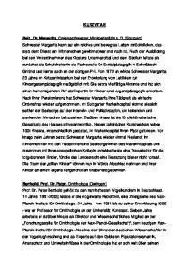 KURZVITAE Beitl, Dr. Margarita, Berthold, Prof. Dr. Peter,