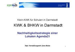 KWK & BHKW in Darmstadt