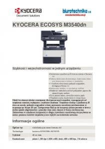 KYOCERA ECOSYS M3540dn