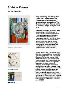 L Art de Pochoir. Drs. Paul Zwartkruis