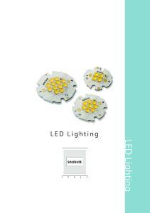 L E D L i g h t i n g. LED Lighting