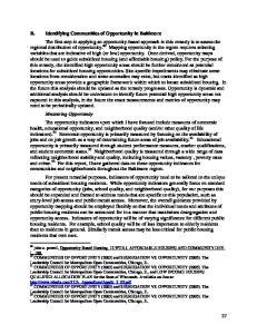 L Leadership Council for Metropolitan Open Communities, Chicago, IL