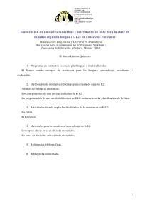 L2) en contextos escolares