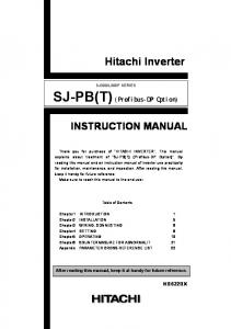 L300P SERIES INSTRUCTION MANUAL